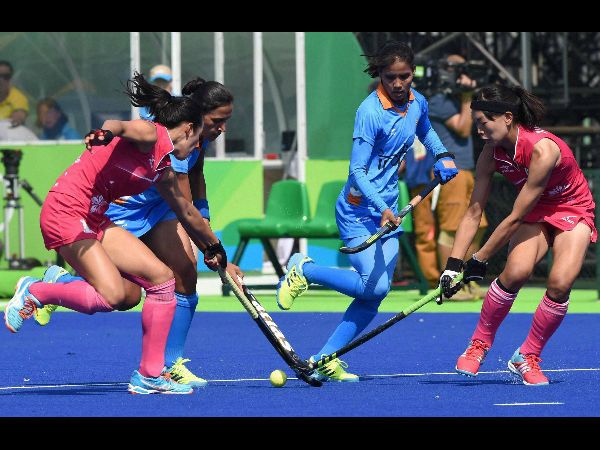 Rio de Janeiro: Indian women's hockey team could not produce the performance of their opening match against Japan as Great Britain convincingly overpowered them 3-0 in the second match of the Olympic Games on Monday.