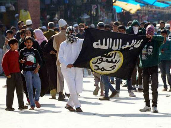 isis influence in kashmir