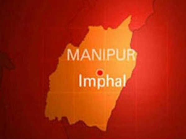 Bomb blast at the entrance of Manipur University in Imphal