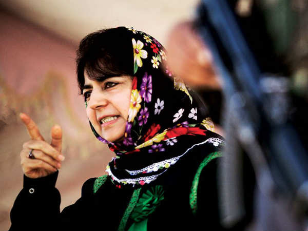 CM Mehbooba Mufti takes on Pakistan, separatists
