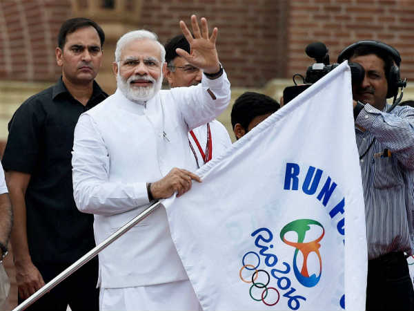 Where is Olympic medal PM Narendra Modi asked People?
