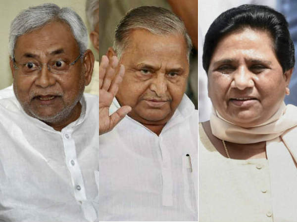 What is Nitish Kumar trying to do in UP Assembly Election 2017?