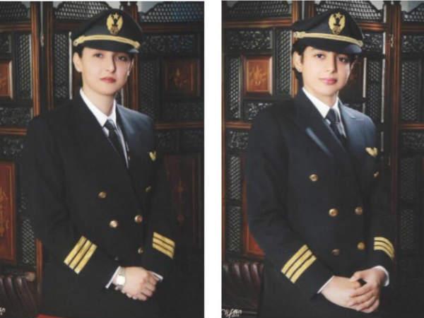 पाकिस्तान की दो बहनें एक साथ उड़ाया बोइंग 777, बनाया इतिहास