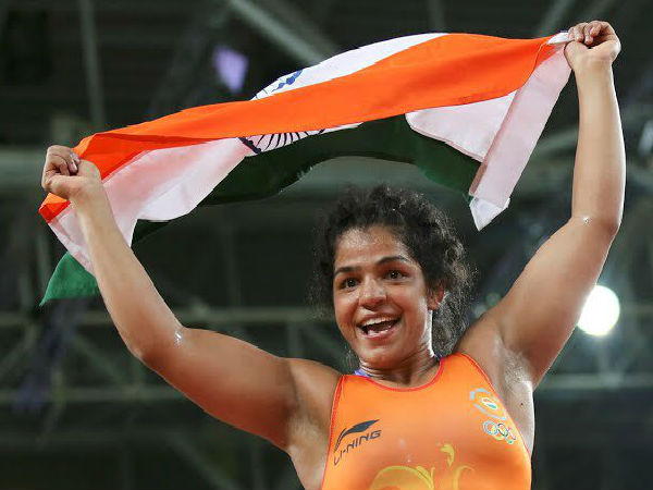 sakshi malik becomes the first indian lady wrestler to bring the first olympic medal for india this year. She won the bronze medal.