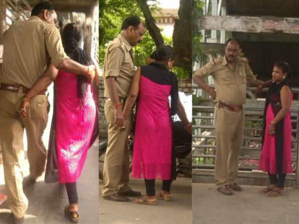 UP Police sub inspector found in obscene position with woman