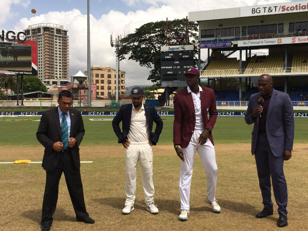 4th Test: West Indies 62/2 before rain spoils opening day proceedings