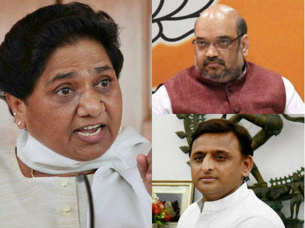 Mayawati slams BJP-RSS, SP, is soft on Congress, Why?