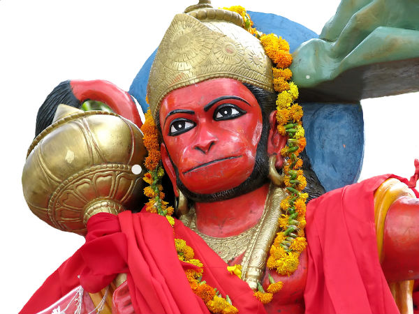 Why do we apply Red or Orange Sindoor to Lord Hanuman?