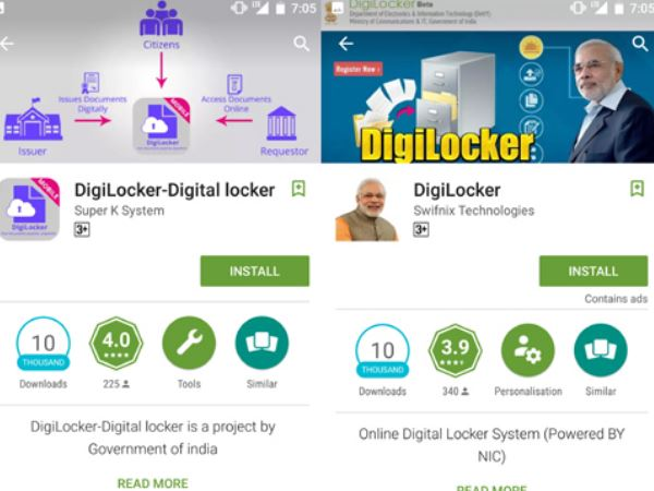 fake digilocker