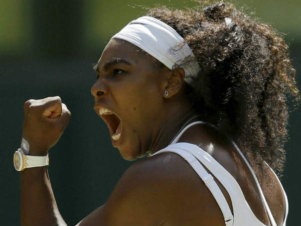 US Open: Serena Williams breaks Roger Federer's record