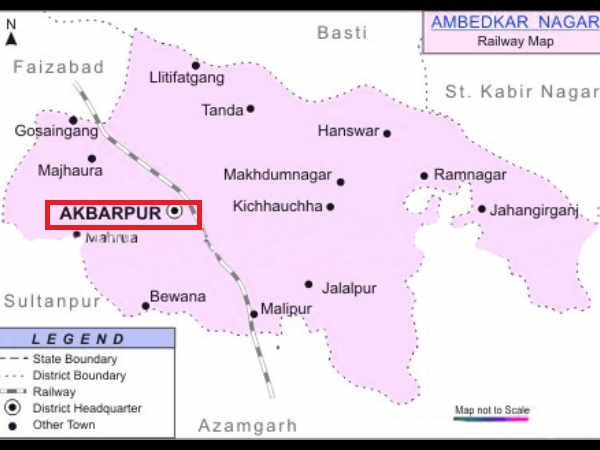 know your constituencies Akbarpur