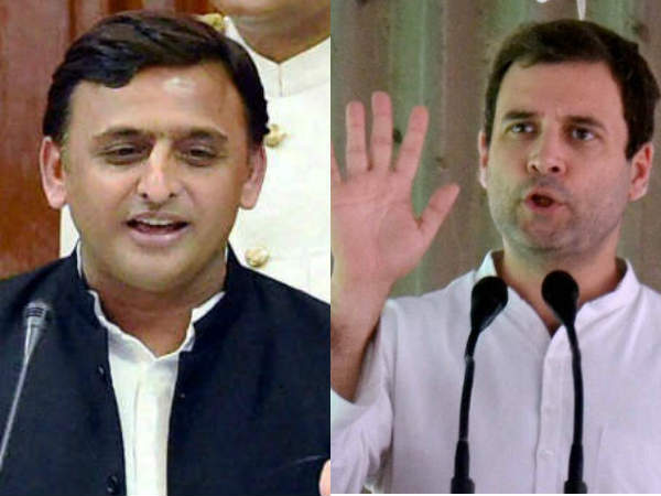 Akhilesh Yadav calls Rahul gandhi a good boy hints alliance