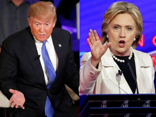 Hillary Clinton, Donald Trump face to face for the first presidential debate