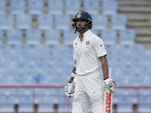Shikhar Dhawan's flop show in Tests continues: Twitterati term it 'surgical strike'