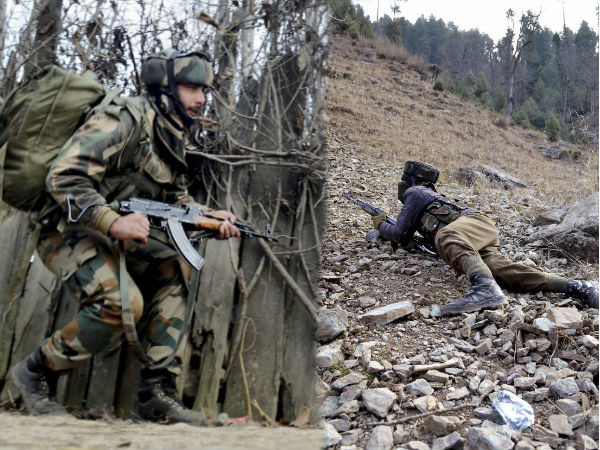 Terrorist attack on army camp