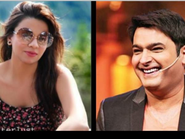 Kapil sharma and Preeti Simoes
