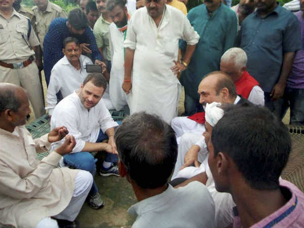 Congress likely to cancel the Khaat Sabha of Rahul Gandhi