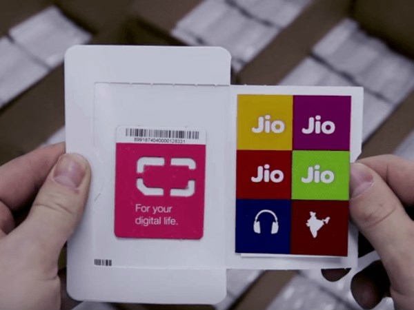 Reliance Jio sim is Out from Market and not have with 4G Handset