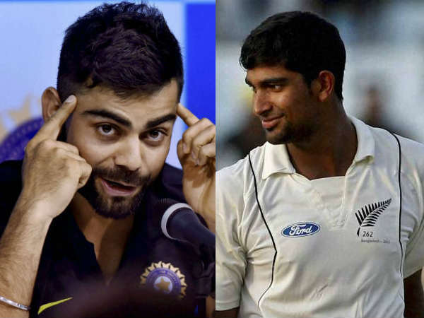 India vs New Zealand series: Cricketer Ish Sodhi is big challenge for Virat Kohli?