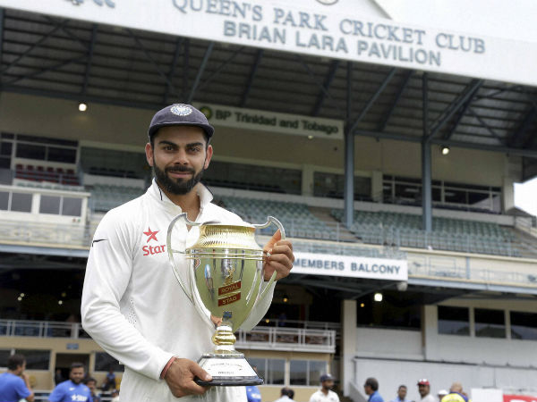 virat kohli feels lucky to captain 500th test match; says to ravi shastri.