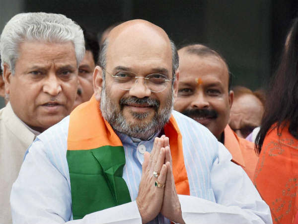 Amit Shah on two day visit of Lucknow to address BJP media cell