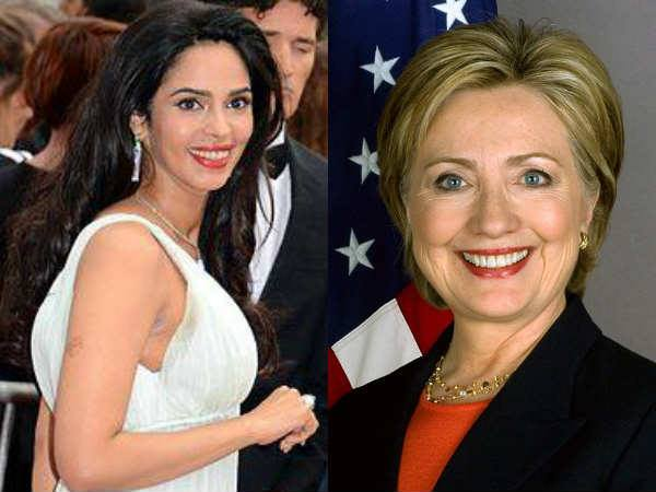 Mallika Sherawat rooting for Hillary Clinton