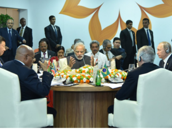 BRICS 2016: Terrorism mother-ship is a country in India's neighborhood Said PM Modi