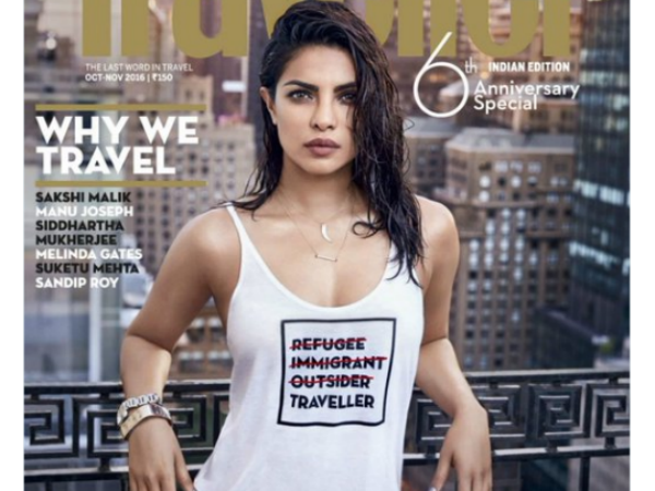 Priyanka Chopra is being criticised for being 'insensitive' by wearing this T-shirt