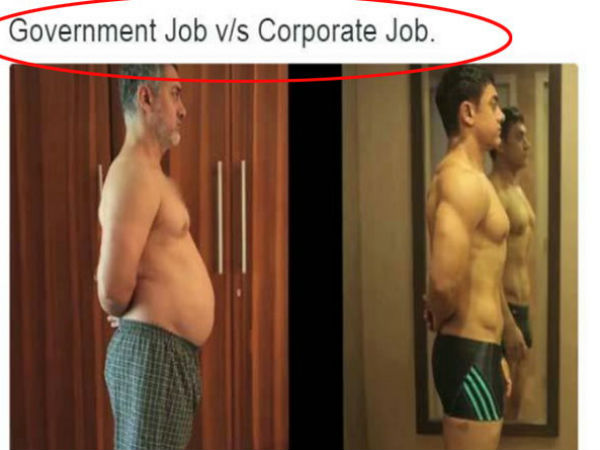 Aamir Khan's Fat-to-Fit pictures for Dangal inspire Twitter caption contest