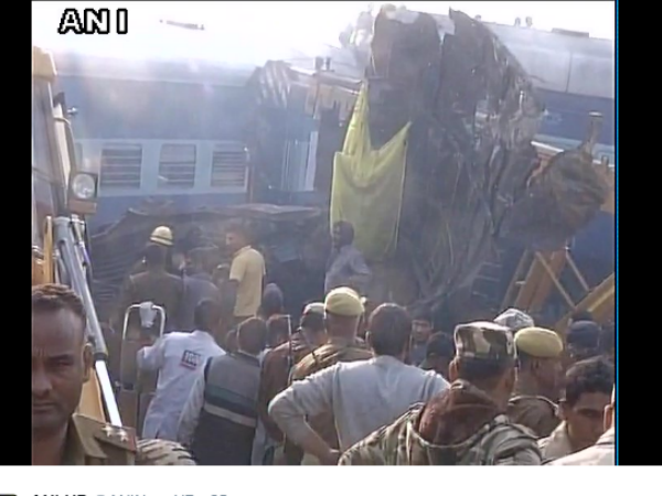 Patna-Indore express derails: 63 bodies recovered so far from spot