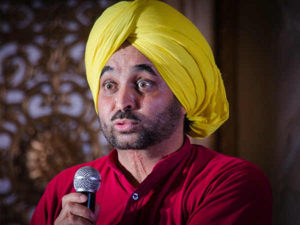 AAP MP Bhagwant Mann to contest against Sukhbir Singh Badal
