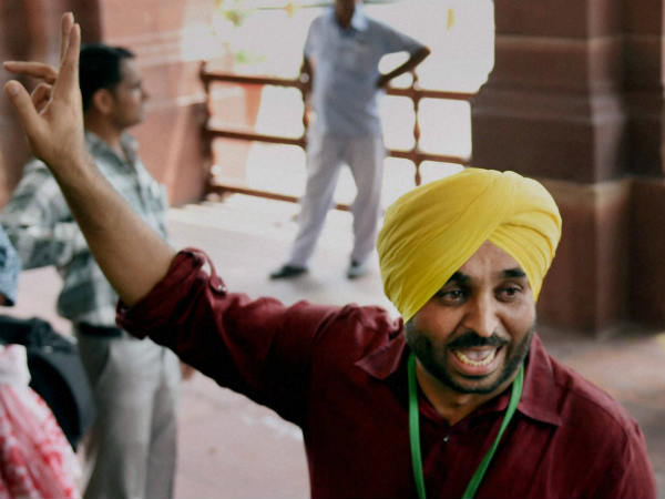 House panel finds AAP MP Bhagwant Mann guilty