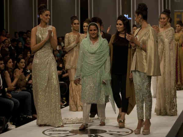 Pakistani Gang Rape Survivor Walks the Fashion Runway