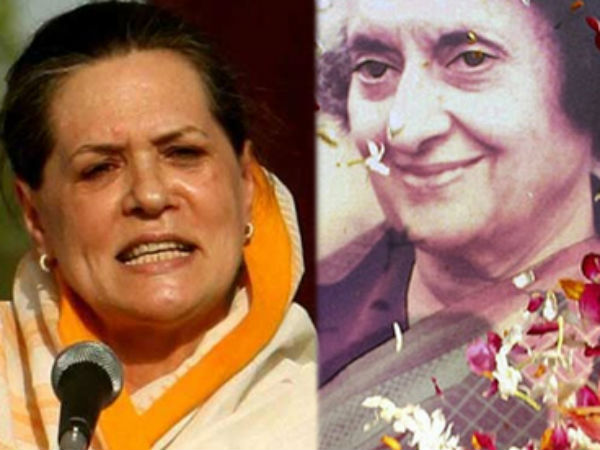 No comparison between PM Narendra Modi and Indira Gandhi: Sonia