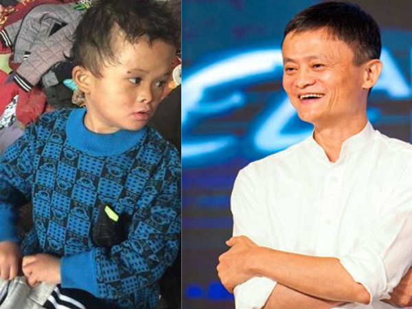 Jack Ma says he will support his 8-year-old lookalike