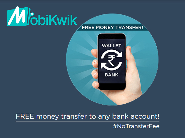 Use Oneindia Coupon, Transfer your cash in Bank Account Only at Mobikwik