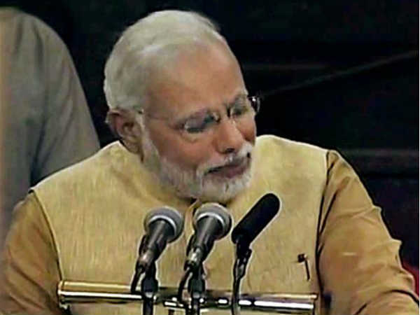PM Modi Makes Emotional Speech To Party Lawmakers On Notes Ban