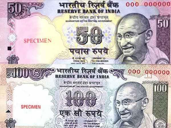 <strong>100 और 50 रुपये के नोट को लेकर सामने आई बड़ी जानकारी</strong>