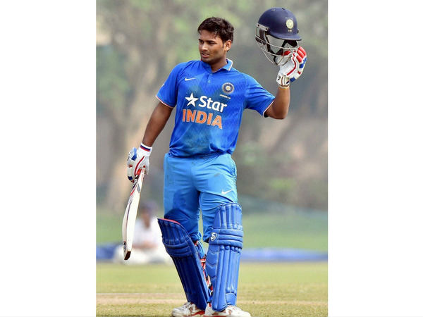 Delhi Ranji Team First-class player Rishabh Pant hits fastest century