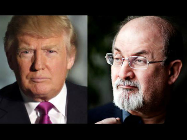 Donald Trump is a sexual predator, says Salman Rushdie