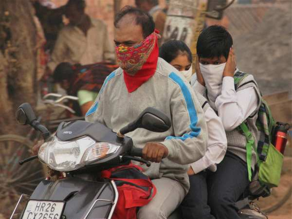 pollution in delhi