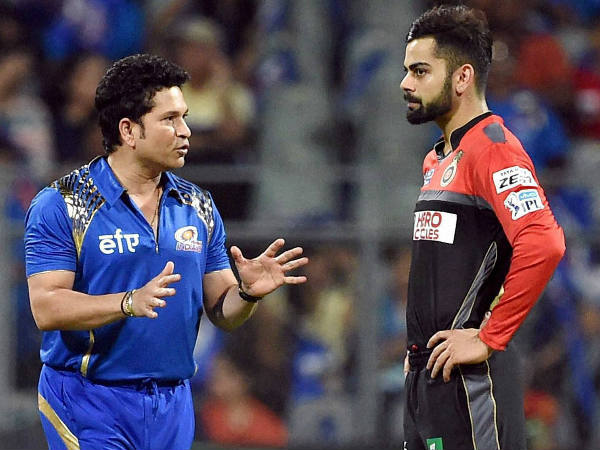 When Virat Kohli said 'I don't drink' to Sachin Tendulkar and later asked for '4   ice cubes'