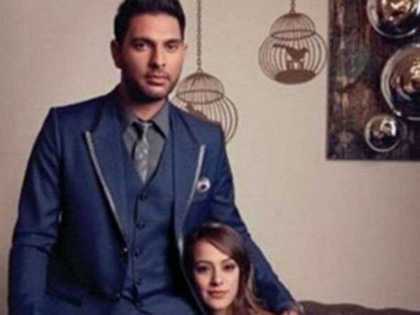 Video: Yuvraj Singh spotted with Hazel Keech at pre-wedding dinner