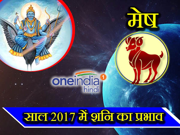 Saturn or Shani Effect Horoscope 2017 on Aries