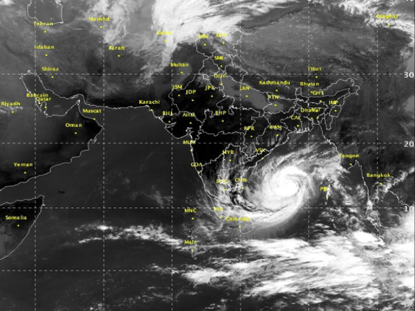 #cyclonevardah: Read Importants Facts about Cyclonic storm Vardah in hindi