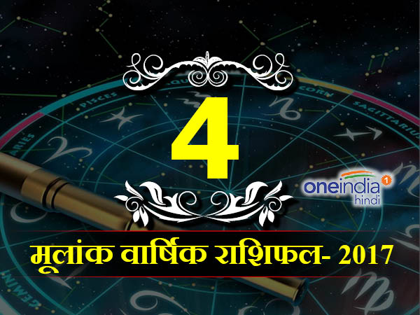 Year Prediction: Numerology horoscope 2017 for Personal Year 4