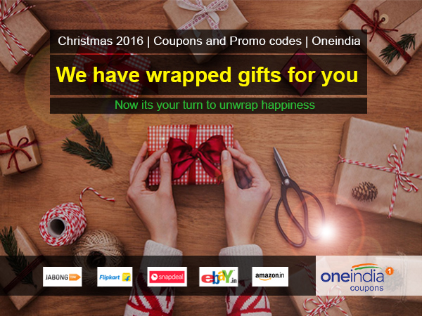 Use Oneindia coupon for Christmas shopping, get mega discounts
