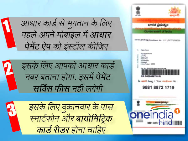 You can shop with your Aadhaar Card, know how 2