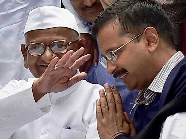 Entire world is using EVMs: Anna Hazare slams Kejriwal over tampering claims