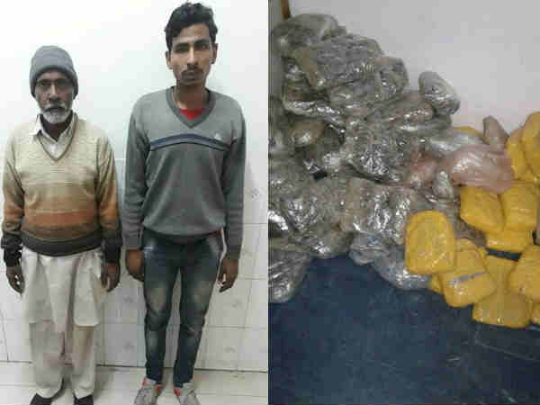 STF arrested 2 smugglers with 76 lakh charas in Bareilly